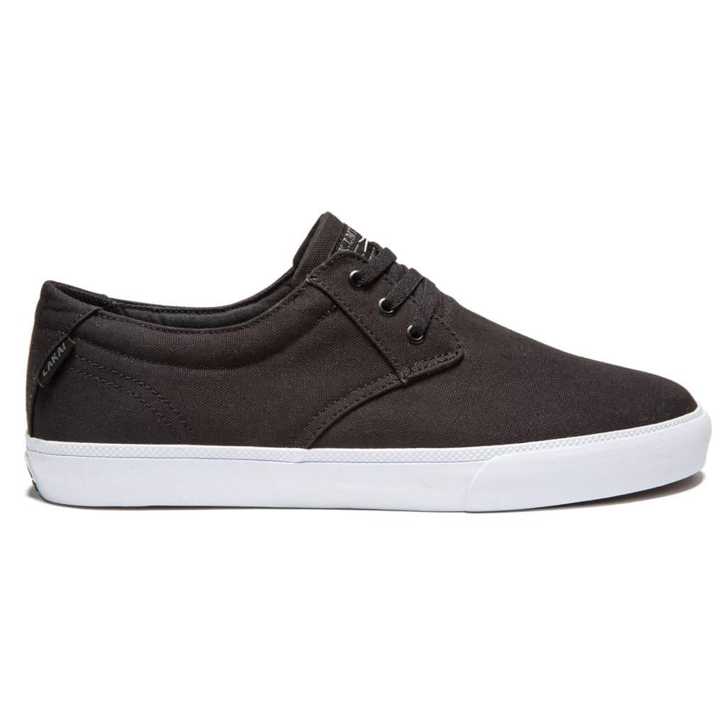 LAKAI FOOTWEAR LAKAI DALY CANVAS - BLACK