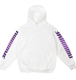 DIME DIME SCREAMING HOODIE - WHITE