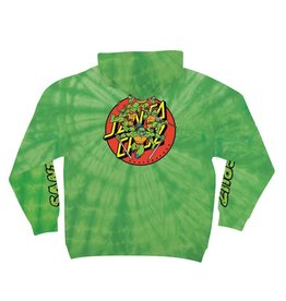 SANTA CRUZ SANTA CRUZ X TMNT TURTLE POWER HOODIE - LIME