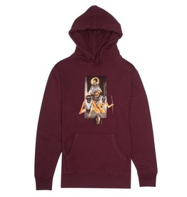 FA ENTERTAINMENT FUCKING AWESOME CHLOE HOODIE - MAROON (NOT SOLD ONLINE)