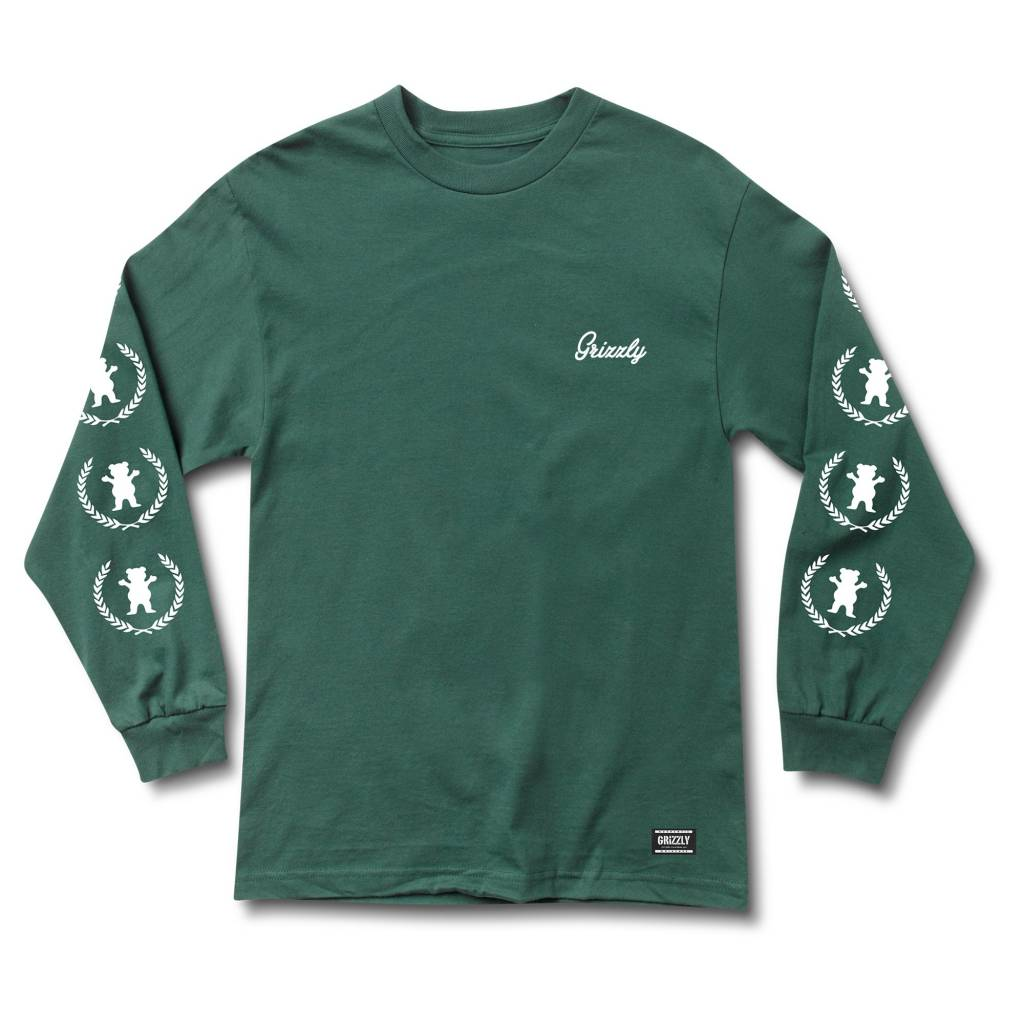 GRIZZLY GRIPTAPE GRIZZLY PREMIER L/S TEE