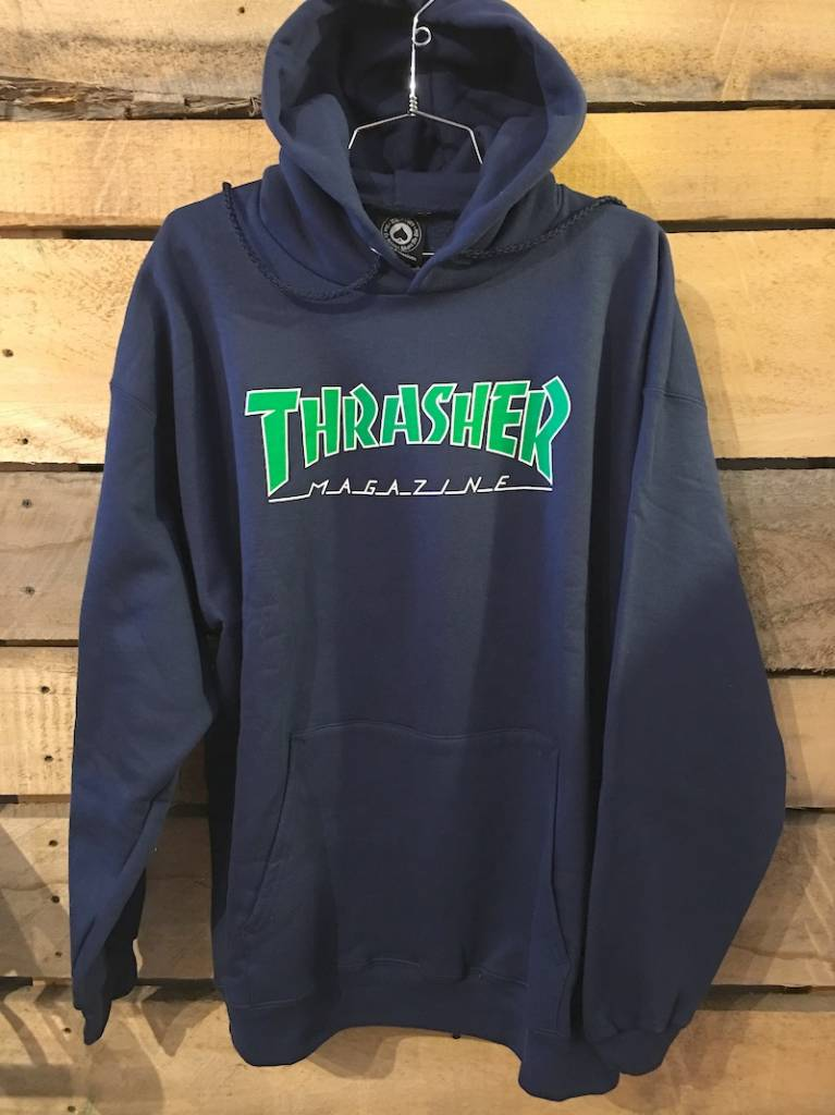 THRASHER MAGAZINE THRASHER OUTLINED HOODIE