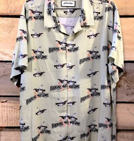 FA ENTERTAINMENT FUCKING AWESOME BIRD CLUB SHIRT - GREEN (NOT SOLD ONLINE)