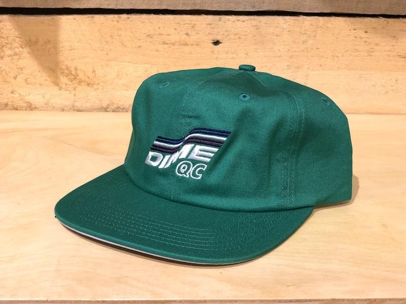 DIME DIME QC HAT - GREEN