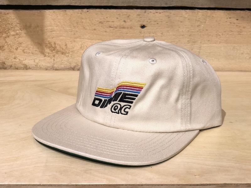 DIME DIME QC HAT - WHITE
