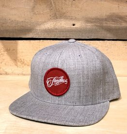 FAMILIA SKATESHOP FAMILIA OG PATCH HAT - GREY