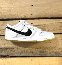 NIKE SB NIKE SB ORANGE LABEL DUNK LOW - WHITE