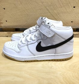 NIKE SB NIKE SB ORANGE LABEL DUNK MID - WHITE