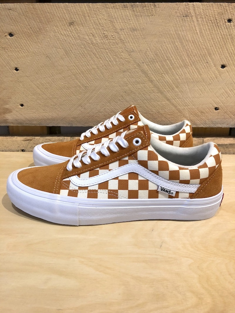 VANS VANS OLD SKOOL PRO - GOLDEN OAK