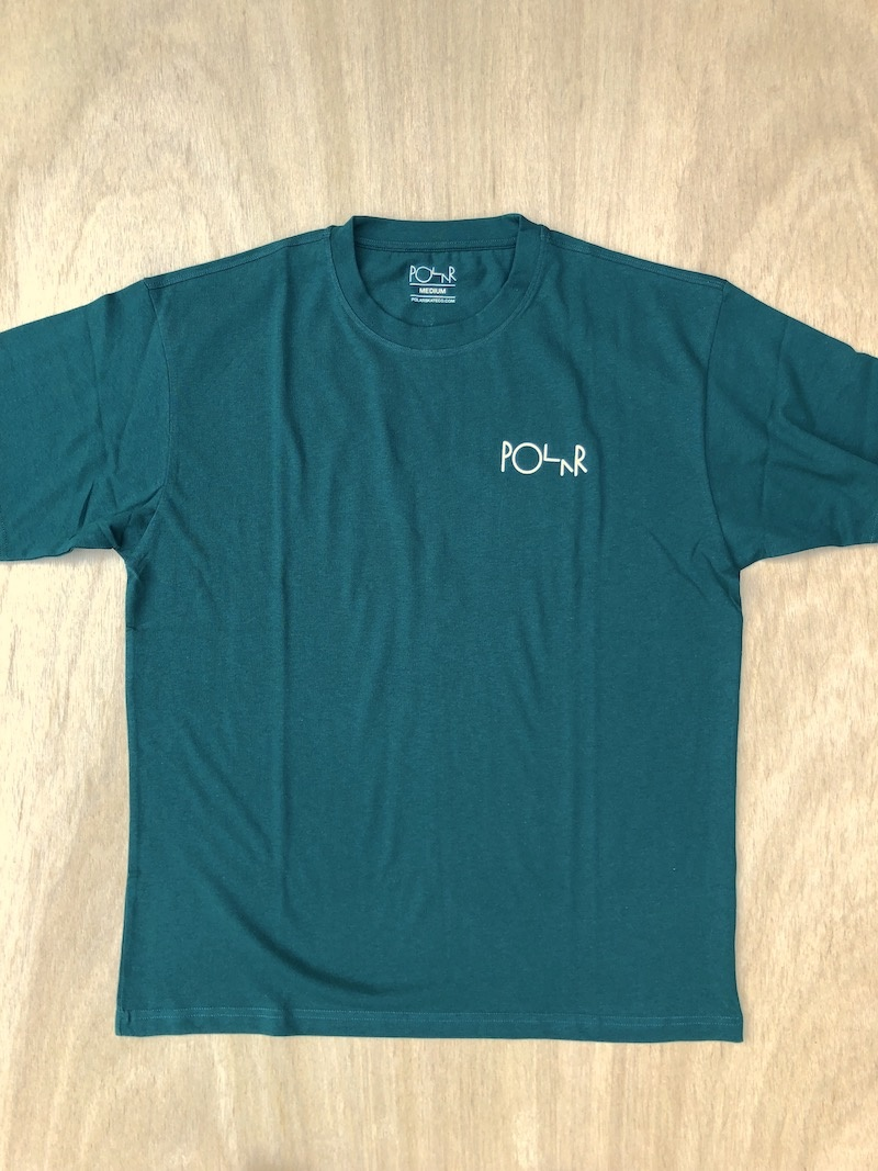 POLAR SKATE CO POLAR STRIKE LOGO TEE - GREEN
