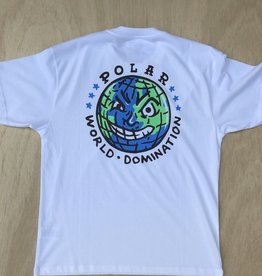 POLAR SKATE CO POLAR P.W.D TEE - WHITE