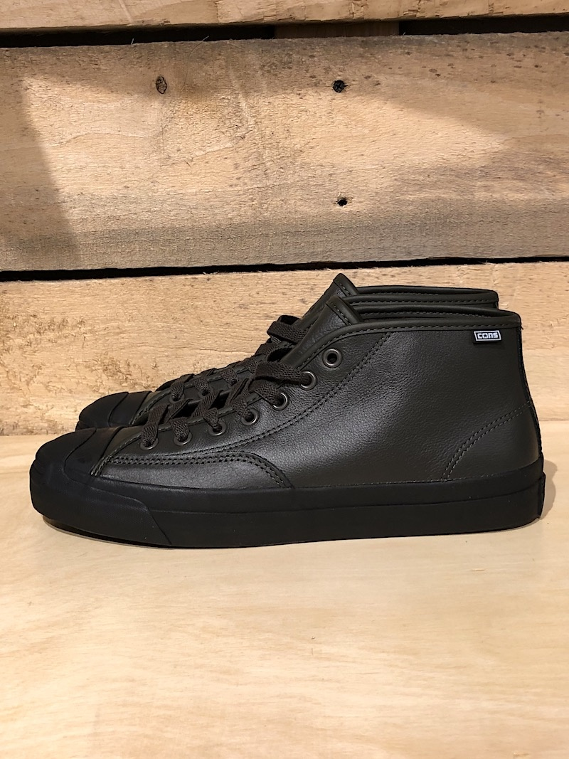 CONVERSE CONVERSE JACK PURCELL PRO MID - CHARCOAL