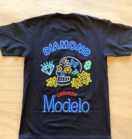 DIAMOND SUPPLY CO DIAMOND X MODELO NEON SIGN TEE