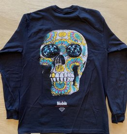 DIAMOND SUPPLY CO DIAMOND X MODELO CALAVERA L/S TEE
