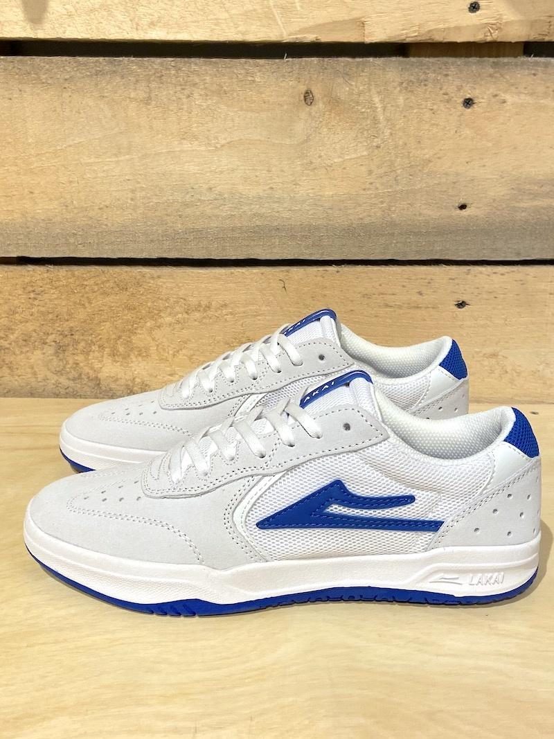 LAKAI FOOTWEAR LAKAI ATLANTIC - WHITE/BLUE
