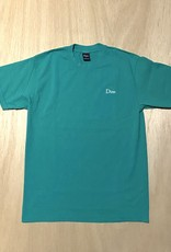DIME DIME CLASSIC LOGO EMBROIDERED TEE - EMERALD
