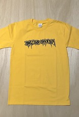 FA ENTERTAINMENT FUCKING AWESOME DRIP STAMP TEE - GOLD