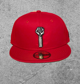 NEW ERA NEW ERA HARDIES 59FIFTY FITTED HAT SCARLET