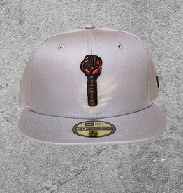 NEW ERA NEW ERA HARDIES 59FIFTY FITTED HAT GREY