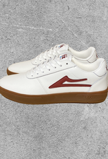 LAKAI FOOTWEAR LAKAI MANCHESTER XLK - WHITE/GUM
