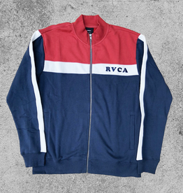 RVCA RVCA TRACK JACKET - BRICK RED