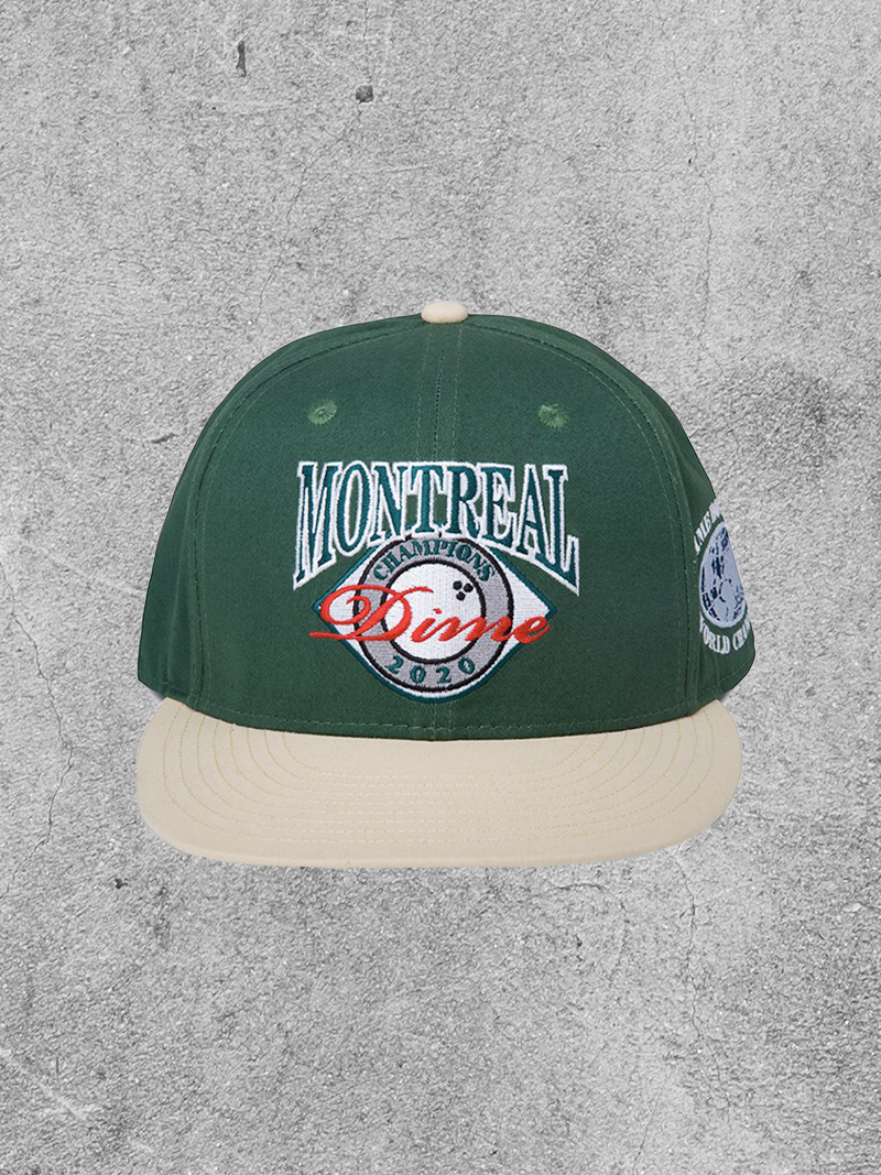 DIME DIME MONTREAL CHAMPION HAT - GREEN