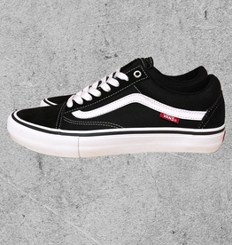 VANS VANS OLD SKOOL PRO - BLACK/WHITE
