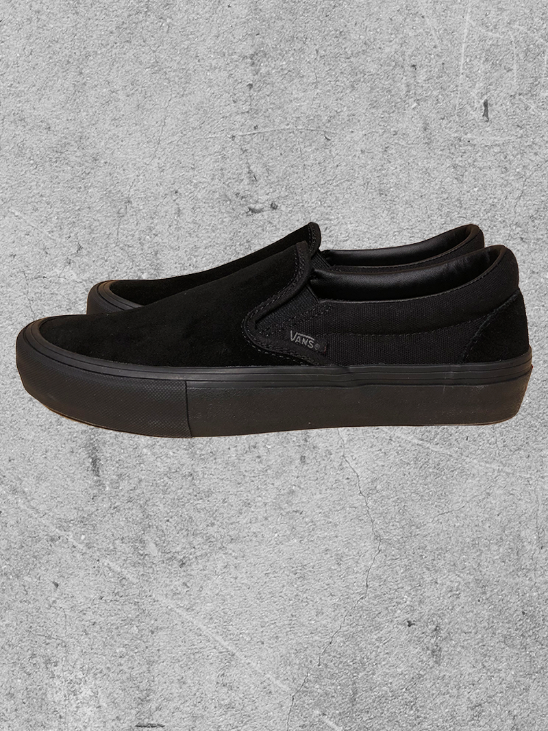 VANS VANS SLIP ON PRO - BLACKOUT