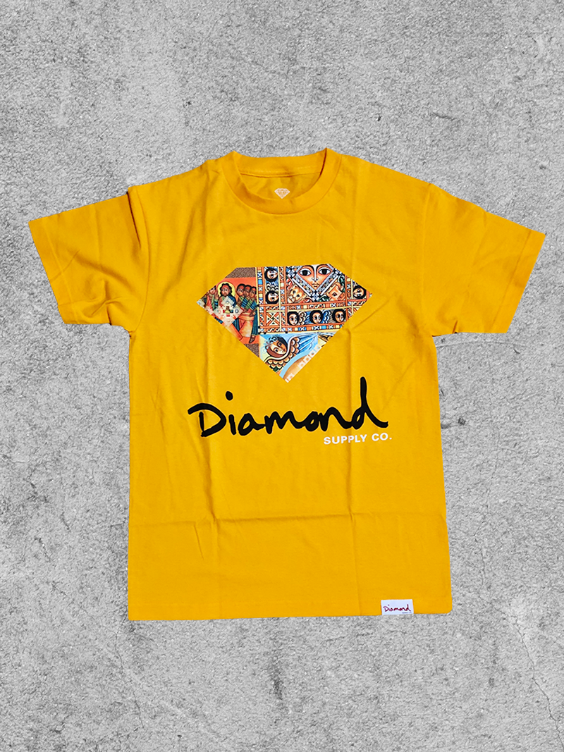 DIAMOND SUPPLY CO DIAMOND ETHIOPIAN TEE
