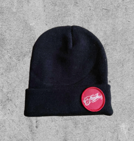 FAMILIA SKATESHOP FAMILIA PATCH BEANIE - BLACK