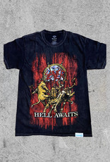 DIAMOND SUPPLY CO DIAMOND X SLAYER HELL AWAITS - BLK