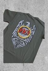 DIAMOND SUPPLY CO DIAMOND X SLAYER ABYSS TEE - SAGE