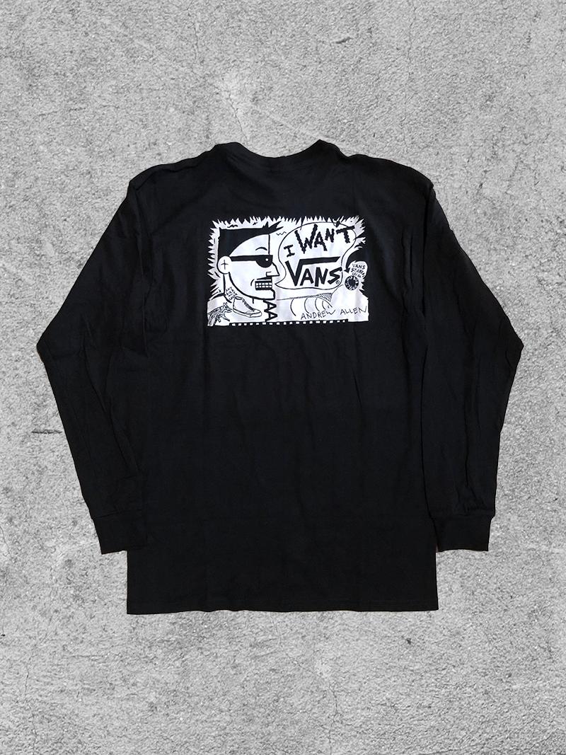 VANS VANS ALLEN L/S - BLACK
