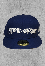 FA ENTERTAINMENT FUCKING AWESOME 59FIFTY NEW ERA HAT - BLUE