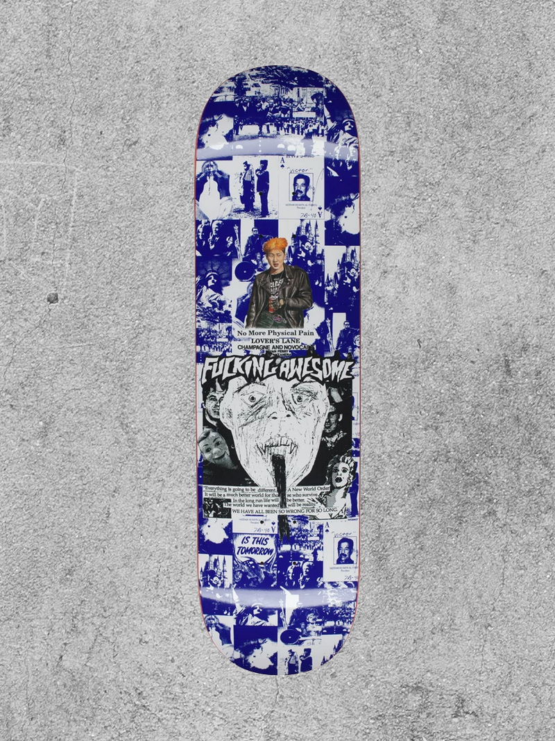 "FA ENTERTAINMENT FUCKING AWESOME FACE REALITY 8.25"" DECK"