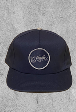 FAMILIA SKATESHOP FAMILIA OUTLINE 5 PANEL HAT - NAVY