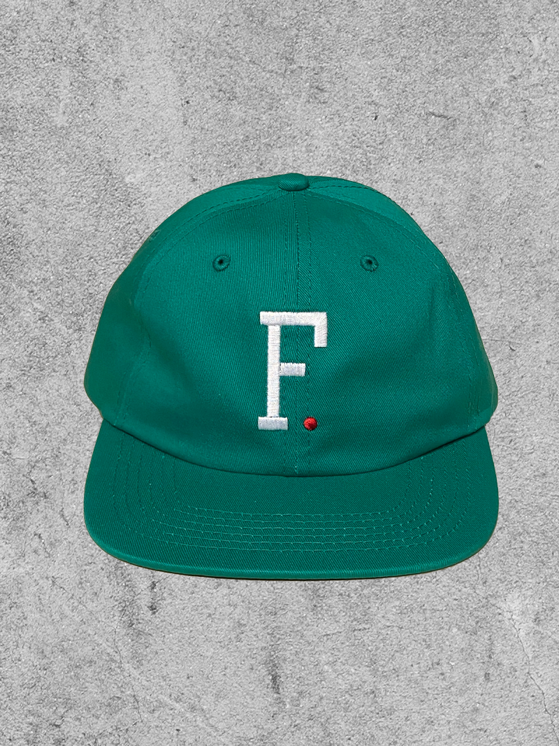 FAMILIA SKATESHOP FAMILIA F. 6 PANEL HAT - GREEN