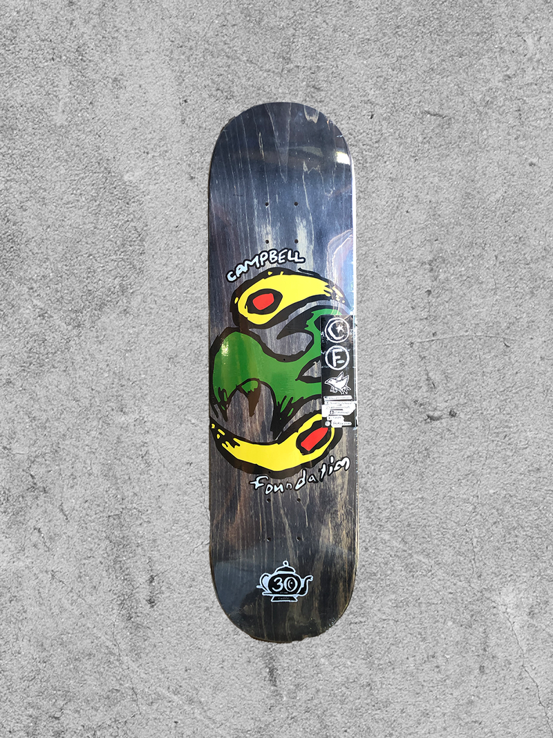 "FOUNDATION FOUNDATION AIDAN YIN YANG BIRD 8.25"" DECK"