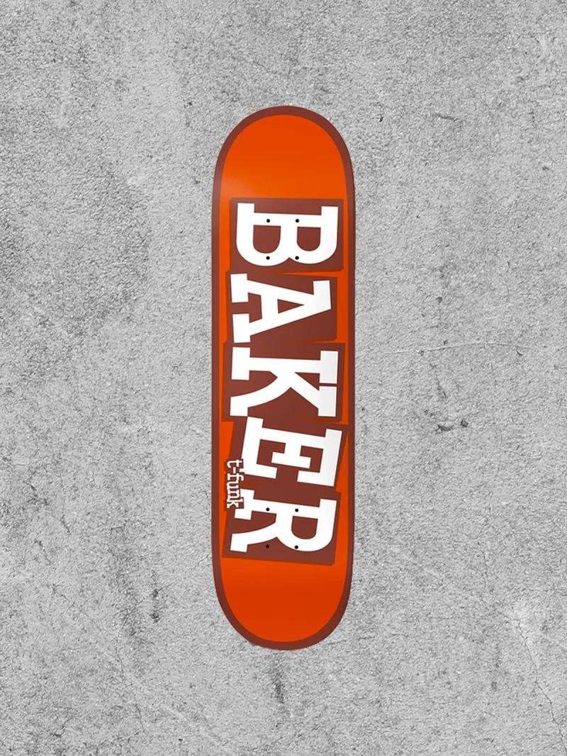 "BAKER BOYS DISTRIBUTION BAKER TFUNK RIBBON B2 8.5"" DECK"