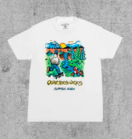 QUARTER SNACKS QUARTER SNACKS SUMMER CAMP TEE
