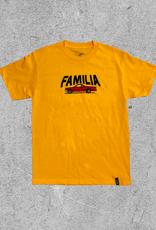 FAMILIA SKATESHOP FAMILIA BP EL CAMINO TEE - GOLD