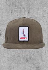 HOCKEY HOCKEY SHOTGUN 5PANEL HAT - FORREST GREEN