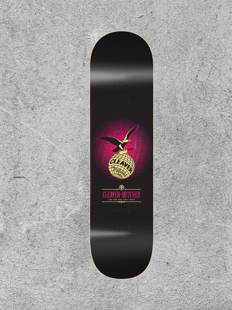"CLEAVER CLEAVER EAGLE 8"" DECK"