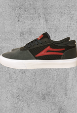 LAKAI FOOTWEAR LAKAI MANCHESTER CHOCOLATE REFLECTIVE - GREY