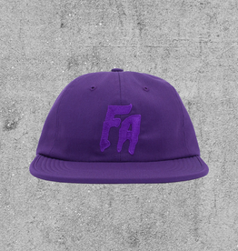 FA ENTERTAINMENT FUCKING AWESOME 6PANEL HAT - PURPLE