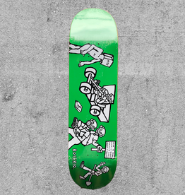 "POLAR SKATE CO POLAR BOSERIA CASH IS QUEEN 8.38"" DECK"