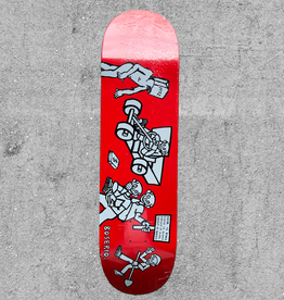 "POLAR SKATE CO POLAR BOSERIA CASH IS QUEEN 8.6"" DECK"