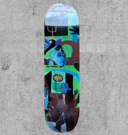 "POLAR SKATE CO POLAR PAUL GRUND MOTH HOUSE 8.5"" DECK"