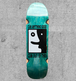 "POLAR SKATE CO POLAR LEAVE MY TRUNK ALONE 1991 9.25"" DECK"