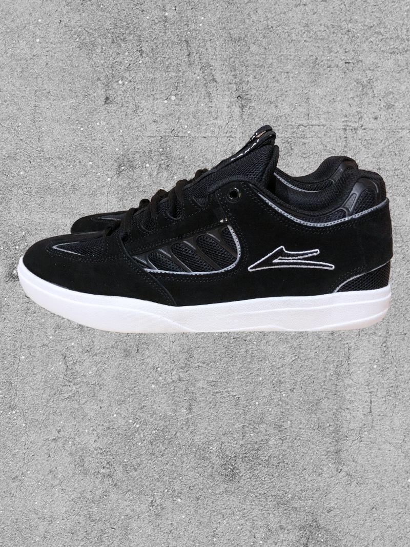 LAKAI FOOTWEAR LAKAI CARROLL - BLACK/WHITE